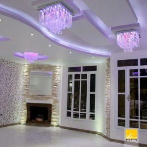 دکوراسیون منزل دکتر شیرازی