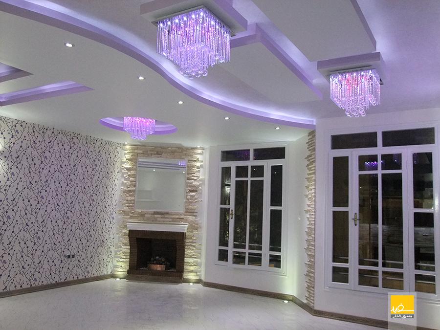 دکوراسیون داخلی منزل دکتر شیرازی