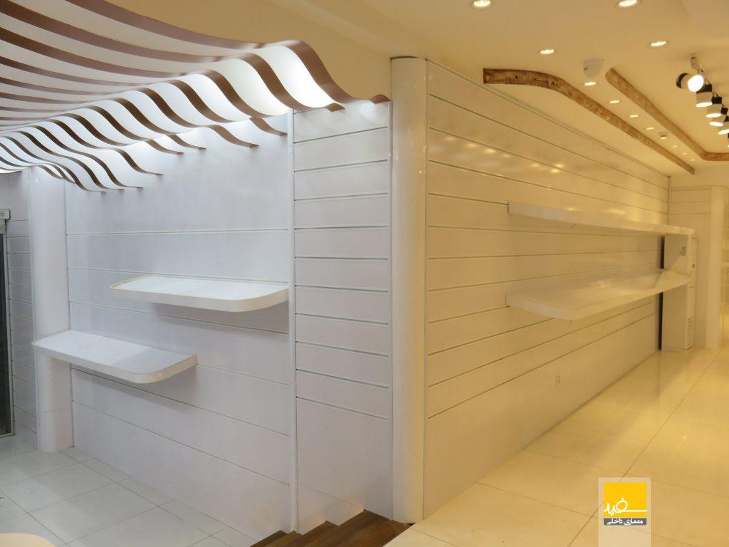 طراحی داخلی و بازسازی فروشگاه