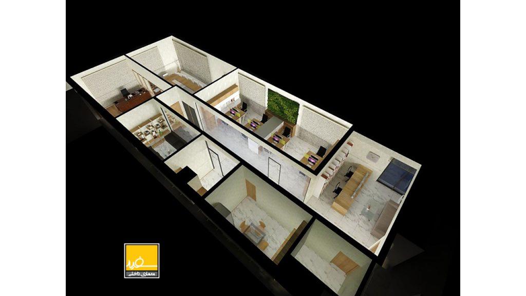 معماری داخلی سهند ژنراتور
