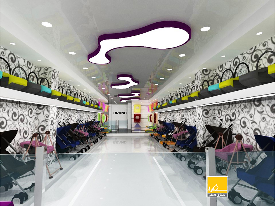 طراحی داخلی فروشگاه ناصر